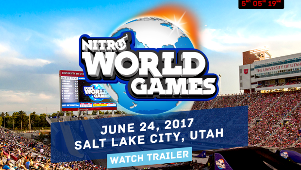 Nitro World Games coming to SLC!