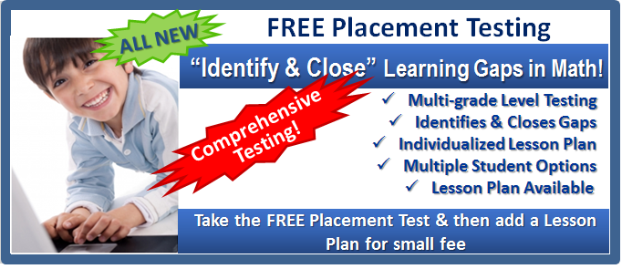Free Math Placement Test